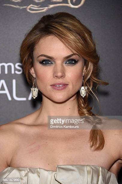 Erin Richards attends the Into The Woods World Premiere at Ziegfeld Theater on December 8 2014 in New York City