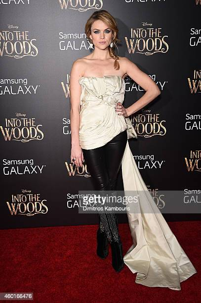 Erin Richards attends the 'Into The Woods' World Premiere at Ziegfeld Theater on December 8 2014 in New York City