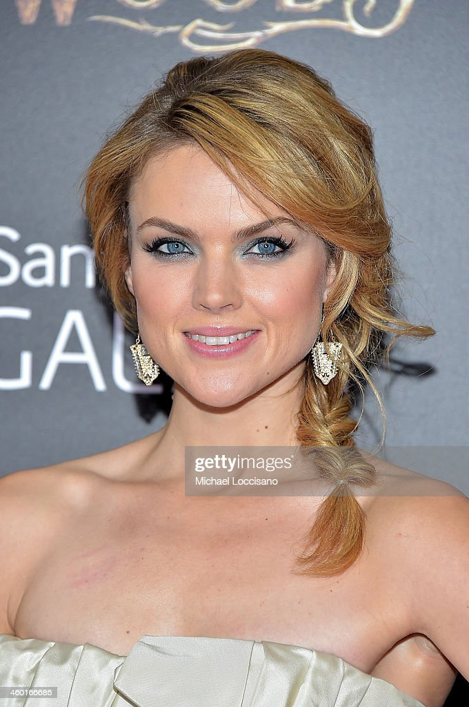 Erin Richards attends the 'Into The Woods' World Premiere at Ziegfeld Theater on December 8, 2014 in New York City.