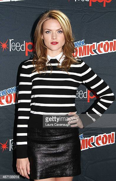 Erin Richards in the Press Room for 'Gotham' at 2014 New York Comic Con Day 4 at Jacob Javitz Center on October 12 2014 in New York City