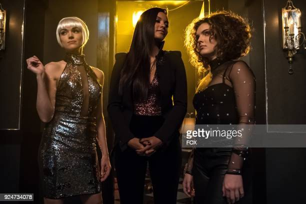 Erin Richards Jessica Lucas and Camren Bicondova in the Pieces Of A Broken Mirror spring premiere episode of GOTHAM airing Thursday Mar 1 on FOX