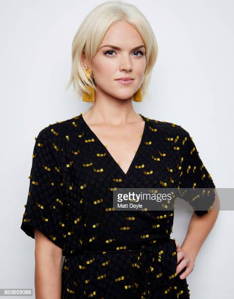 Erin Richards of FOX's 'Gotham' pose for a portrait at the Tribeca TV festival at Cinepolis Chelsea on September 23 2017