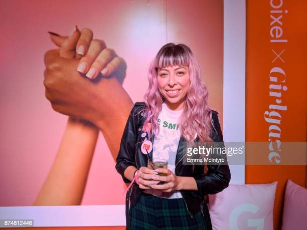 Erin Rivera attends the #TEAMPIXEL x GIRLGAZE launch event hosted by Google and Amanda De Cadenet on November 15 2017 in Los Angeles California