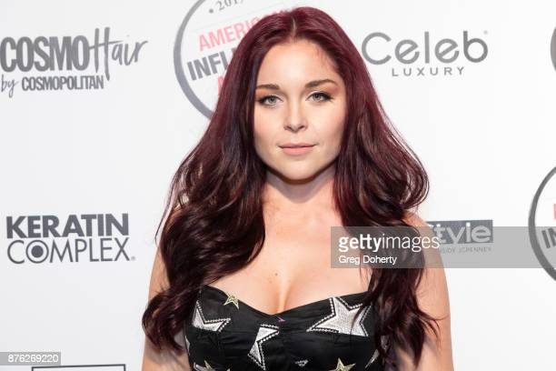 Erin Robinson attends the American Influencer Award at The Novo by Microsoft on November 18 2017 in Los Angeles California