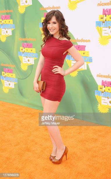 Erin Sanders arrives at Nickelodeon's 24th Annual Kids' Choice Awards at Galen Center on April 2 2011 in Los Angeles California