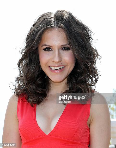 Erin Sanders attends the Annex Magazine summer issue private viewing hosted by Jesse McCartney at the Kia Malibu Estate on July 12 2014 in Malibu...