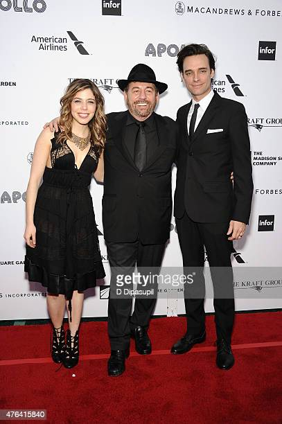 Erin Slaver honoreee James L Dolan and Marc Copely attend The Apollo Theater's 10th Annual Spring Gala at The Apollo Theater on June 8 2015 in New...