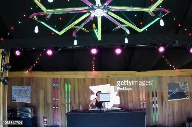 Erin Stereo performs in the 80s Ski Lodge during day 1 of Grandoozy on September 14 2018 in Denver Colorado