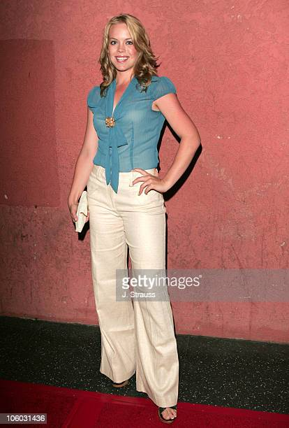 Erin Torpey during The AIDS Healthcare Foundation Presents Hot in Hollywood at The Henry Fonda/Music Box Theatre in Hollywood California United States