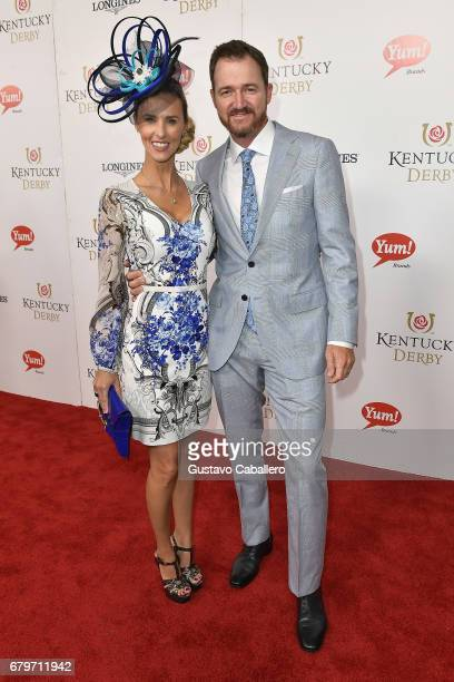 Erin Walker and Jimmy Walker attend the 143rd Kentucky Derby at Churchill Downs on May 6 2017 in Louisville Kentucky