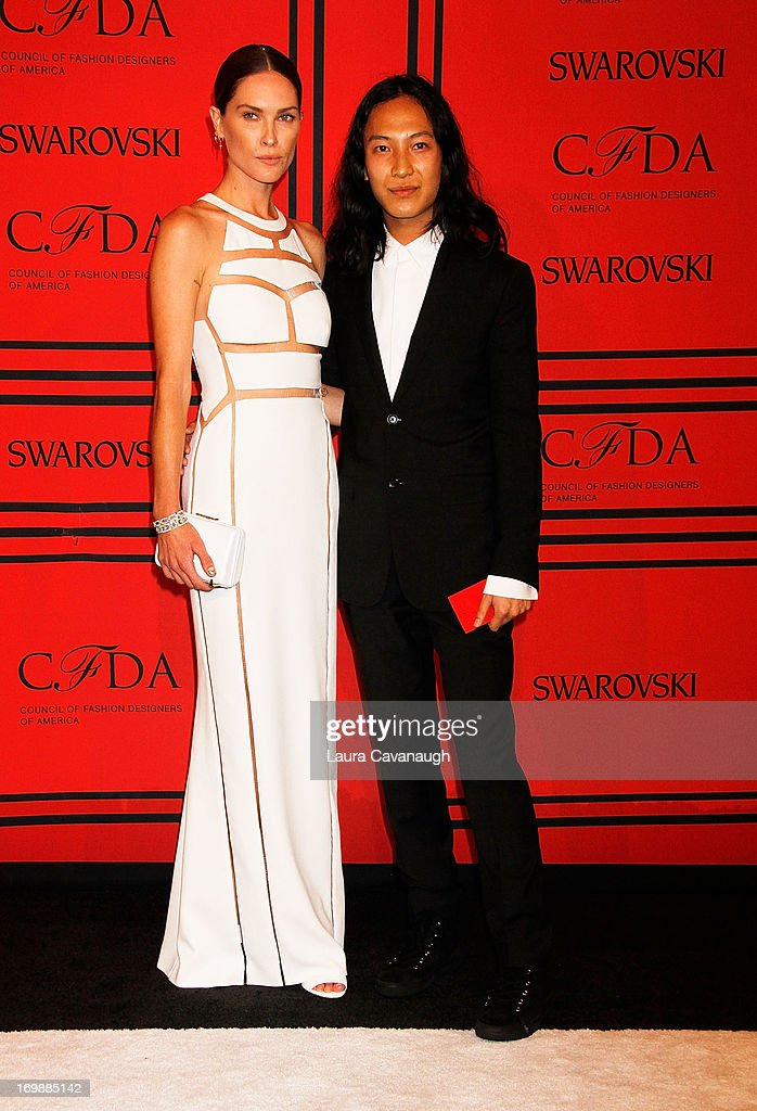 Erin Wasson and Alexander Wang attend the 2013 CFDA Fashion Awardson June 3, 2013 in New York, United States.