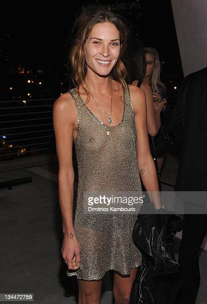 Erin Wasson attends a Jesse Jo Stark performance at The Alchemist for Art Basel at The Alchemist on December 1 2011 in Miami Florida