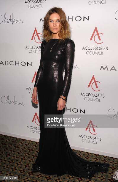 Erin Wasson attends the 13th Annual 2009 ACE Awards presented by the Accessories Council at Cipriani 42nd Street on November 2 2009 in New York City