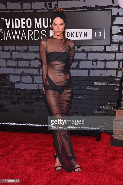 Erin Wasson attends the 2013 MTV Video Music Awards at the Barclays Center on August 25 2013 in the Brooklyn borough of New York City