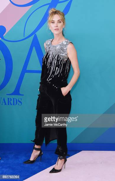 Erin Wasson attends the 2017 CFDA Fashion Awards at Hammerstein Ballroom on June 5 2017 in New York City