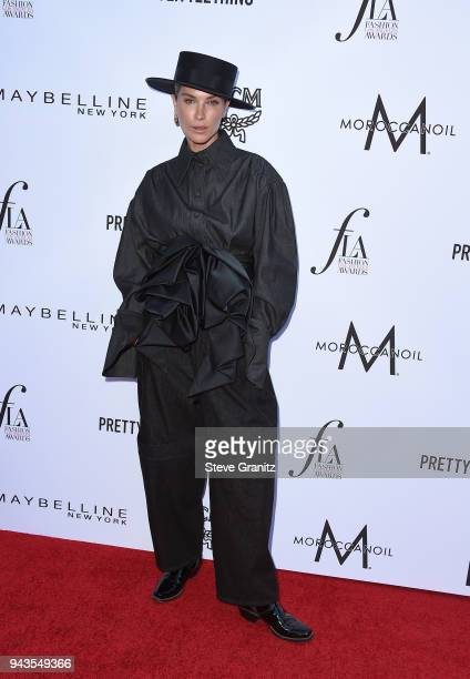 Erin Wasson attends The Daily Front Row's 4th Annual Fashion Los Angeles Awards at Beverly Hills Hotel on April 8 2018 in Beverly Hills California