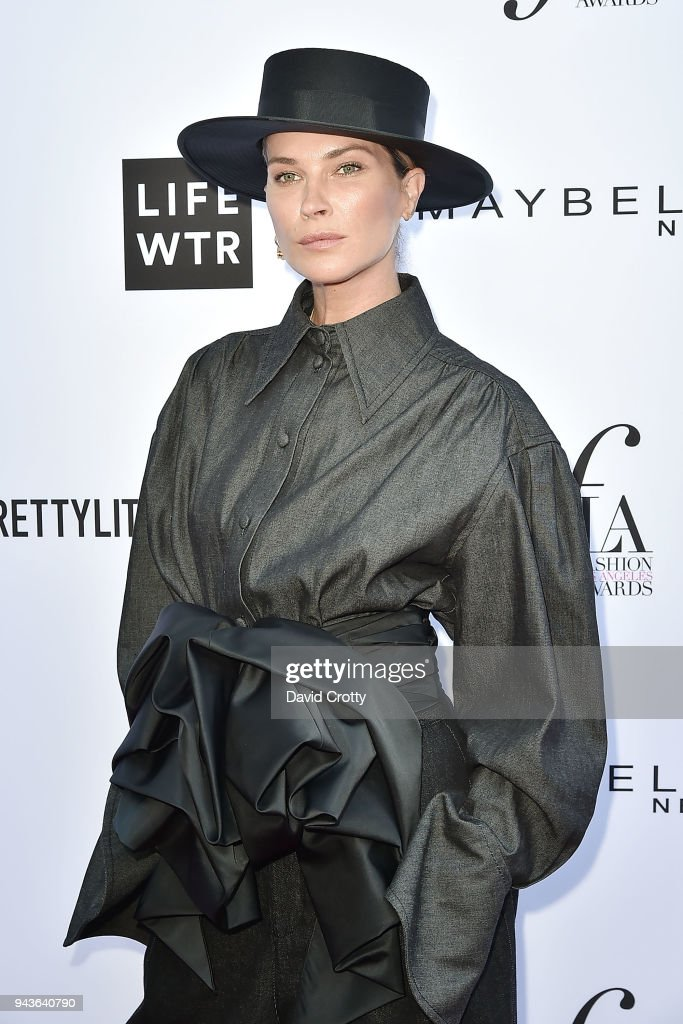 Erin Wasson attends The Daily Front Row's 4th Annual Fashion Los Angeles Awards - Arrivals at The Beverly Hills Hotel on April 8, 2018 in Beverly Hills, California.