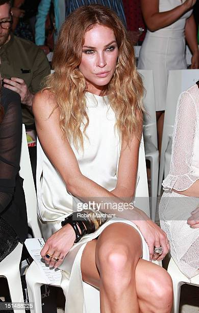 Erin Wasson attends the Elle Fashion | Next show during Spring 2013 MercedesBenz Fashion Week at David Koch Theatre at Lincoln Center on September 7...