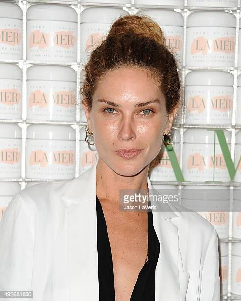 Erin Wasson attends the La Mer celebration of an Icon event at Siren Studios on October 13 2015 in Hollywood California