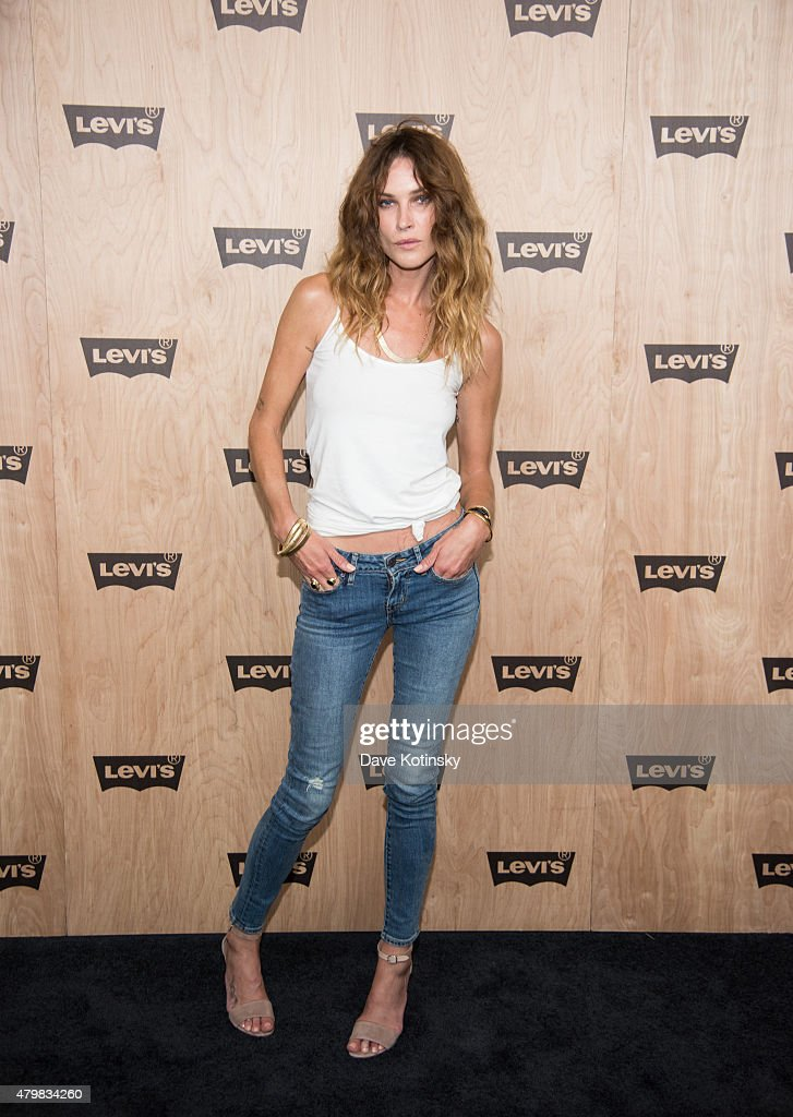 Erin Wasson attends the Levi's Women's Collection Exhibition Launch at The Levi's Store Times Square on July 7, 2015 in New York City.