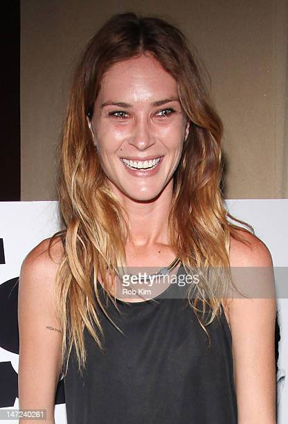 Erin Wasson attends the 'The Heimlich Maneuver' New York Special Screening at Soho Grand Hotel on June 27 2012 in New York City