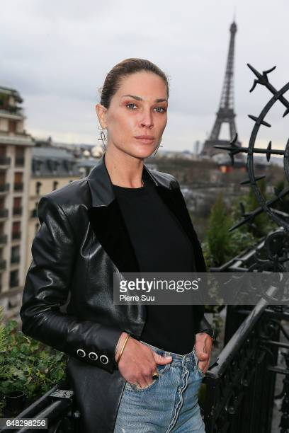 Erin Wasson attends the Wasson Fine Jewelry presentation as part of the Paris Fashion Week Womenswear Fall/Winter 2017/2018 on March 5 2017 in Paris...
