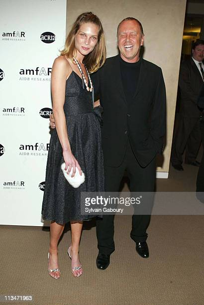 Erin Wesson Michael Kors during amfAR and ACRIA Honor Herb Ritts for His Work and Activism at Sotheby's in New York New York United States