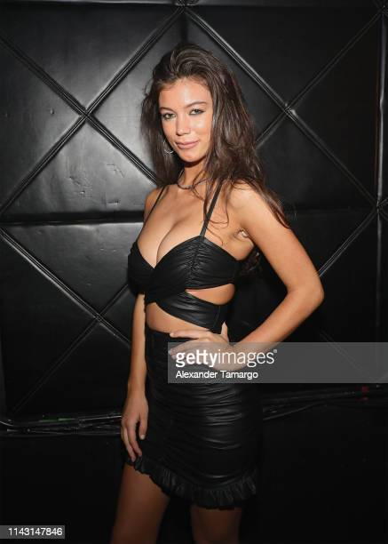 Erin Willerton attends the Sports Illustrated Swimsuit Celebrates 2019 Issue Launch at MynTu on May 11 2019 in Miami Florida