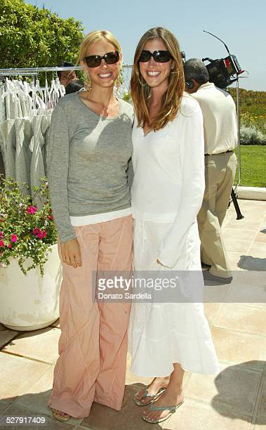 Erinn Bartlett and Jackie Sandler during Turi Hosts Peter Som's Trunk Show at The Home Of Barbara Grushow To Benefit The Alliance For Children's...