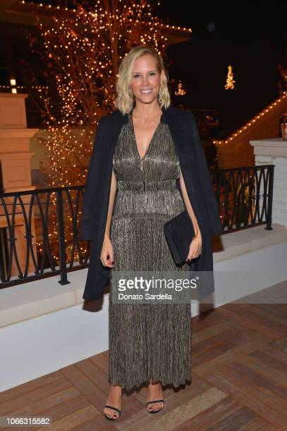 Erinn Bartlett attends the Rachel Zoe Resort Holiday Presentation at Rachel Zoe Boutique on November 28 2018 in Pacific Palisades California