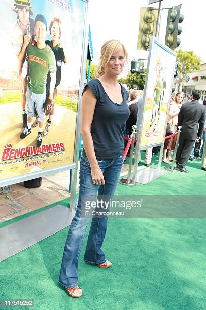 Erinn Bartlett during Revolution Studios and Columbia Pictures Premiere of The Benchwarmers at Sunset Canyon Recreation Center/UCLA Campus in...