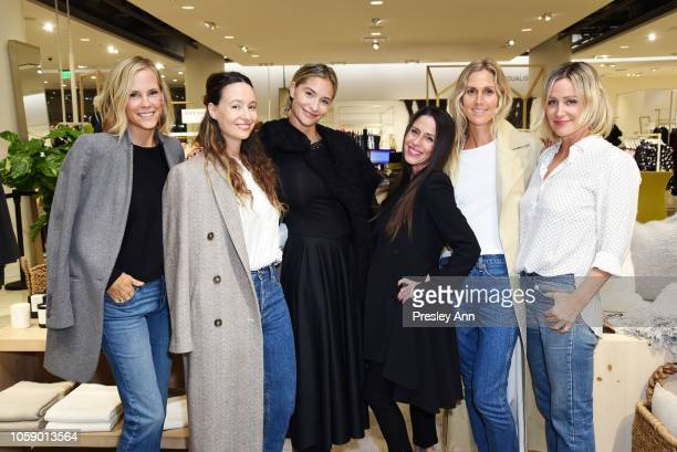 Erinn Bartlett Jenni Kayne Ambre Dahan Soleil Moon Frye Jessica de Ruiter and Ali Taekman attend Jenni Kayne Nordstrom Popup Dinner on November 07...