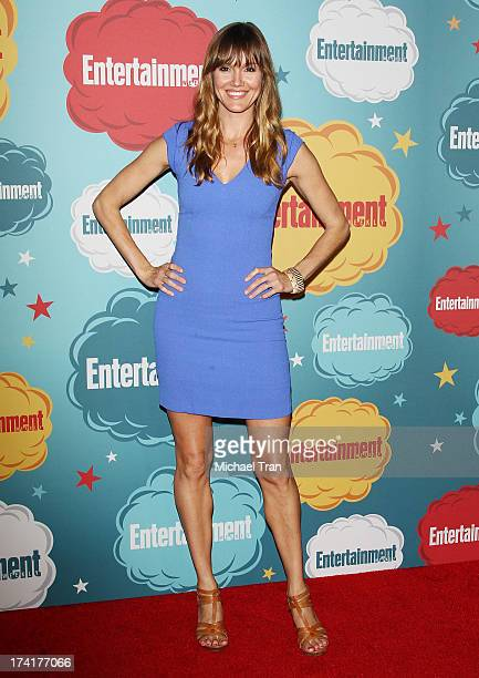 Erinn Hayes arrives at the Entertainment Weekly's Annual ComicCon celebration held at Float at Hard Rock Hotel San Diego on July 20 2013 in San Diego...