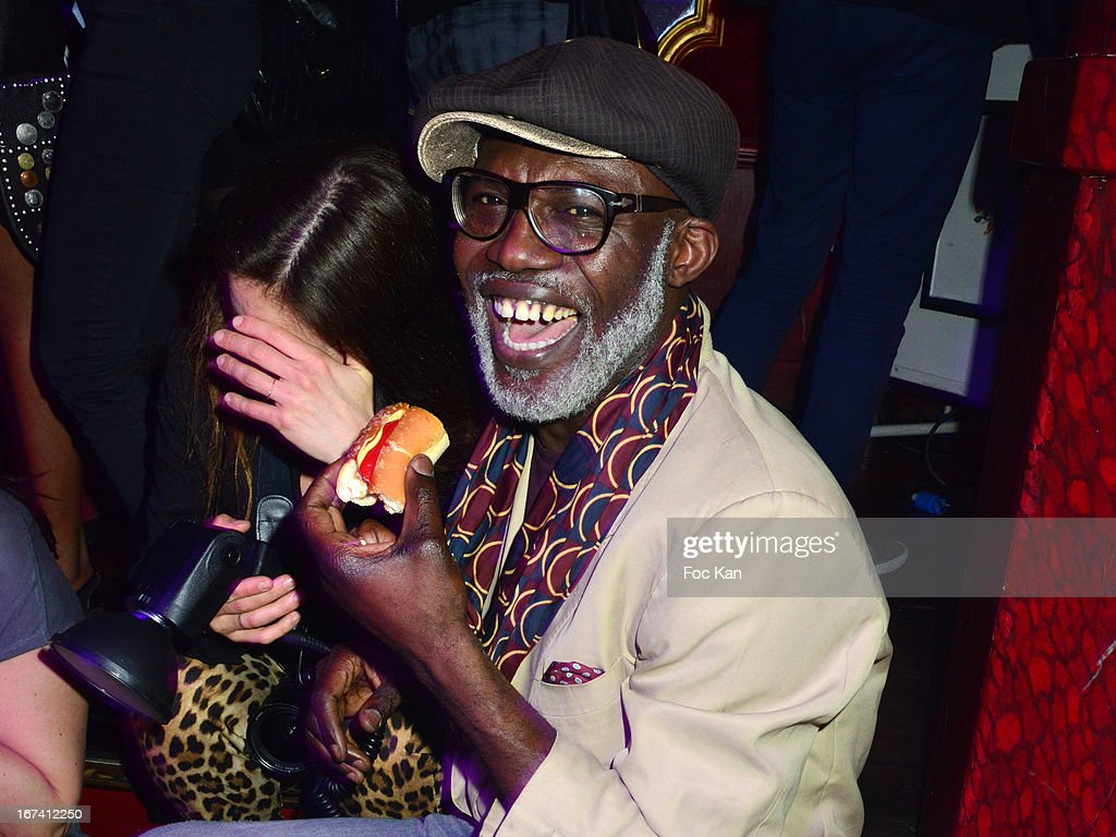Eriq Ebouaney attends the Villa Schweppes Launch Party For Cannes Film Festival 2013 At Salle Wagram on April 24, 2013 in Paris, France.