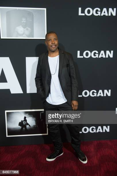 Eriq La Salle arrives for the premiere of 'Logan' on February 24 2017 in New York / AFP PHOTO / Bryan R Smith