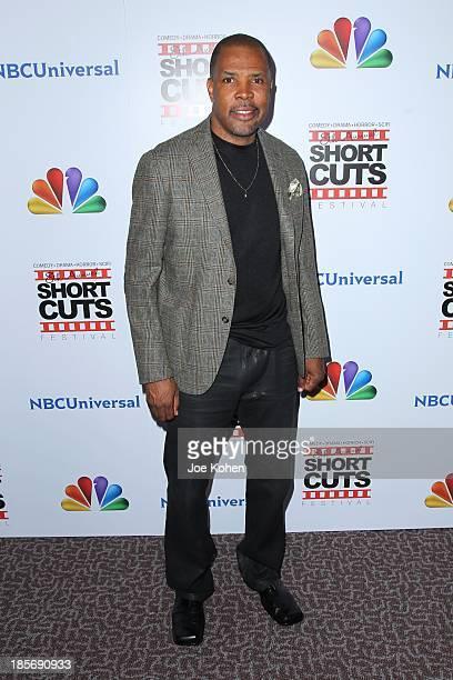 Eriq La Salle attends NBC Universal's 8th Annual Short Cuts Festival Grand Finale at DGA Theater on October 23 2013 in Los Angeles California