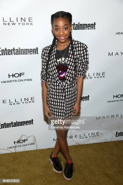Eris Baker attends Entertainment Weekly's Screen Actors Guild Award Nominees Celebration sponsored by Maybelline New York at Chateau Marmont on...