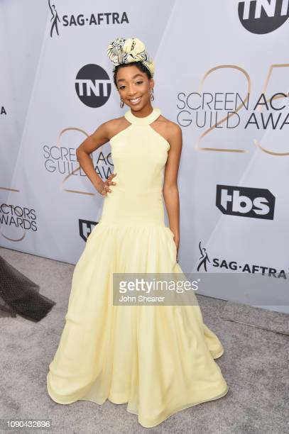 Eris Baker attends the 25th Annual Screen Actors Guild Awards at The Shrine Auditorium on January 27 2019 in Los Angeles California
