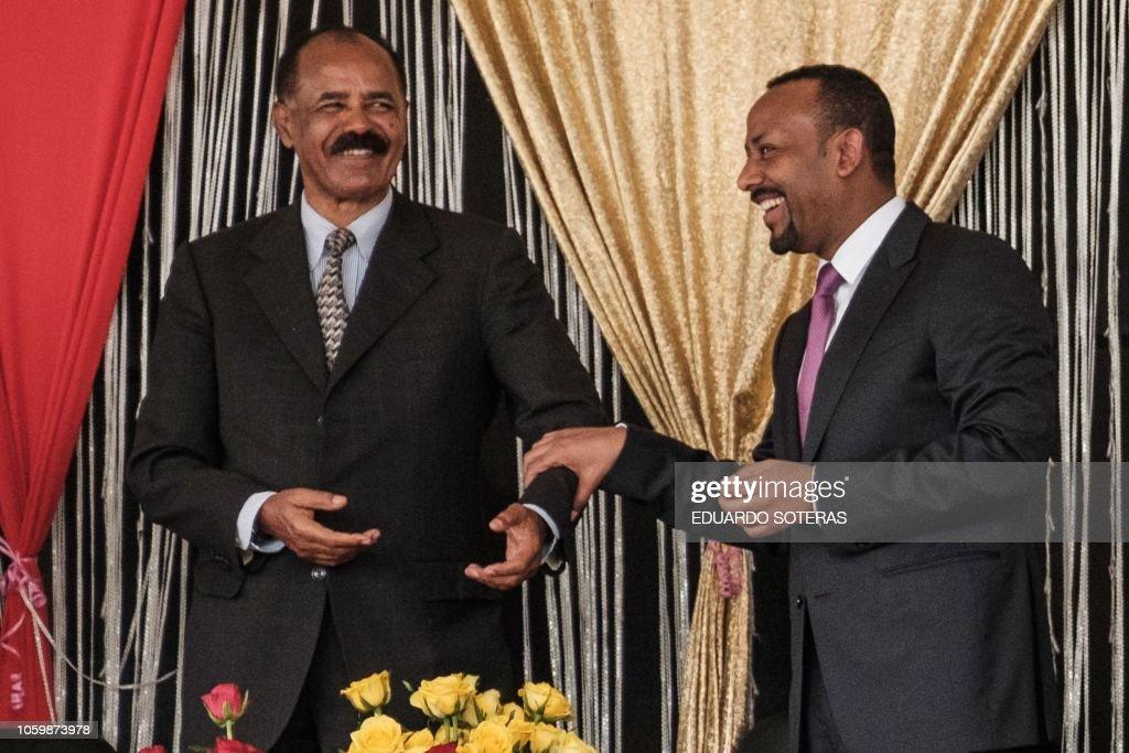 ETHIOPIA-ERITREA-SOMALIA-POLITICS : News Photo