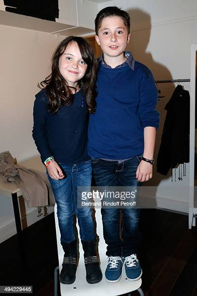 Erja Malatier and Matheo Boisselier present the movie Les vacances du Petit Nicolas where they are those parents at the 'Vivement Dimanche' French TV...