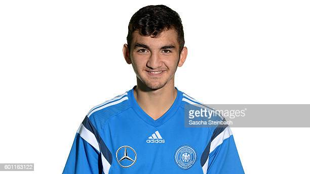 Erkan Eyibil poses during the Germany U16 Team Presentation on September 9 2016 in Kamen Germany