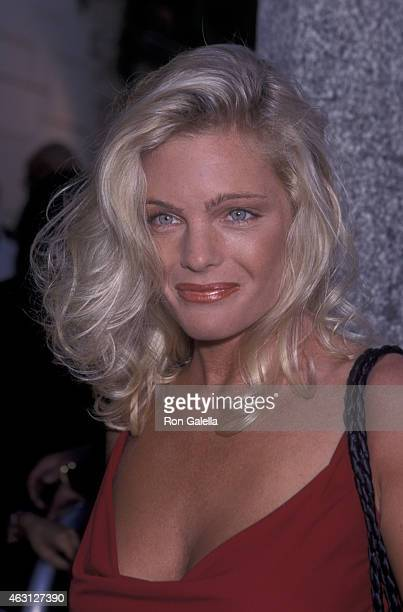 Erkia Eleniak attends the premiere of Love Stinks on August 11 1999 at Mann Festival Theater in Westwood California