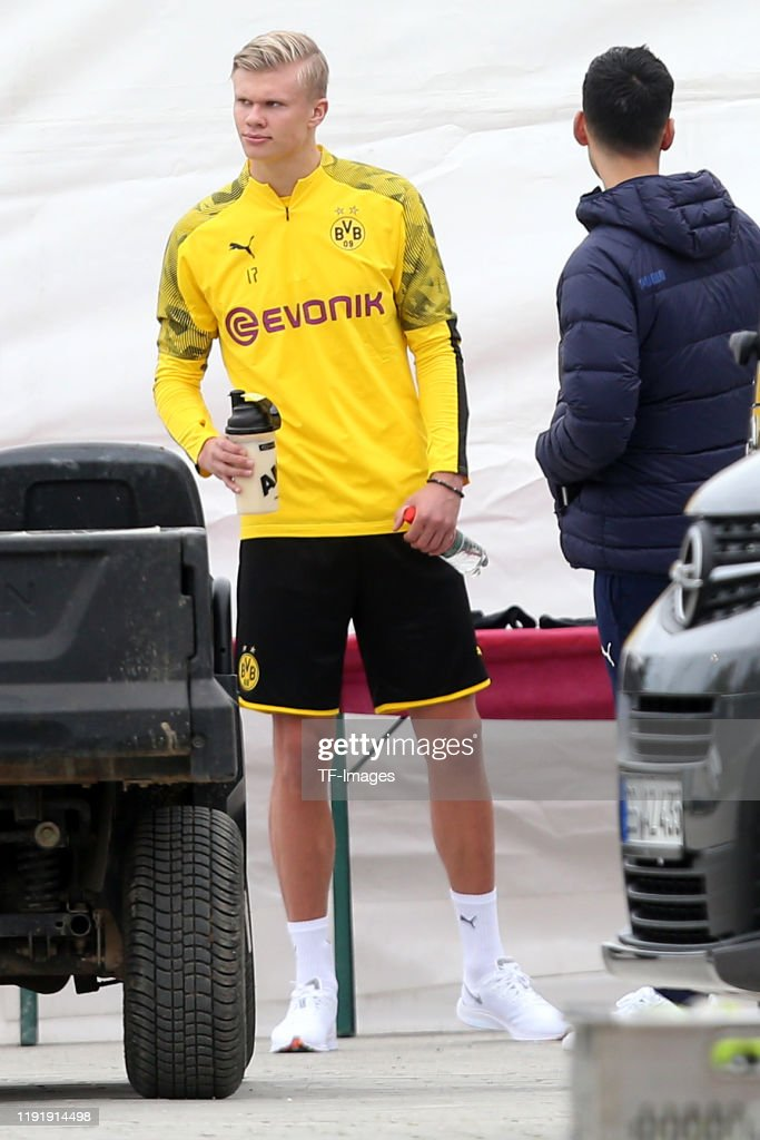 Erling Braut Haaland Of Borussia Dortmund Looks On During Day Two Of News Photo Getty Images
