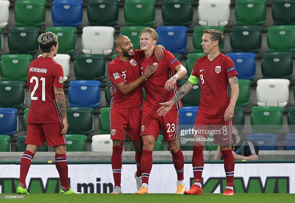 Northern Ireland v Norway - UEFA Nations League : News Photo