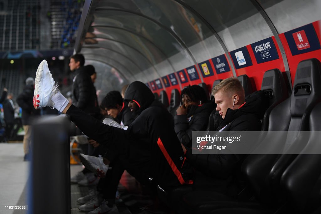 RB Salzburg v Liverpool FC: Group E - UEFA Champions League : News Photo