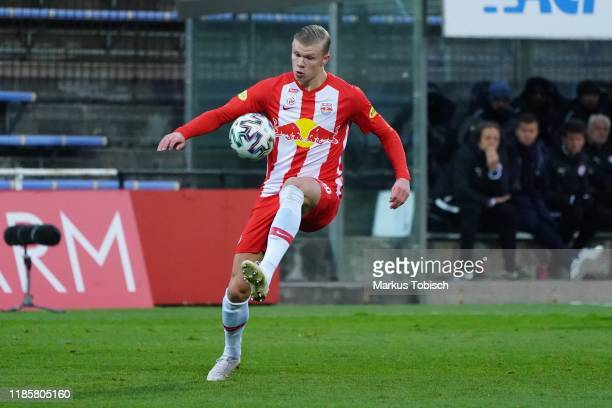Erling Braut Haaland of Salzburg during the tipico Bundesliga match between FC Flyeralarm Admira and FC Red Bull Salzburg at BFSZArena on December 1...