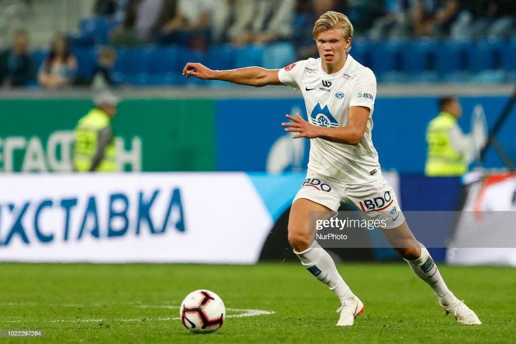 Zenit Saint Petersburg v Molde FK - UEFA Europa League: Play-offs : News Photo