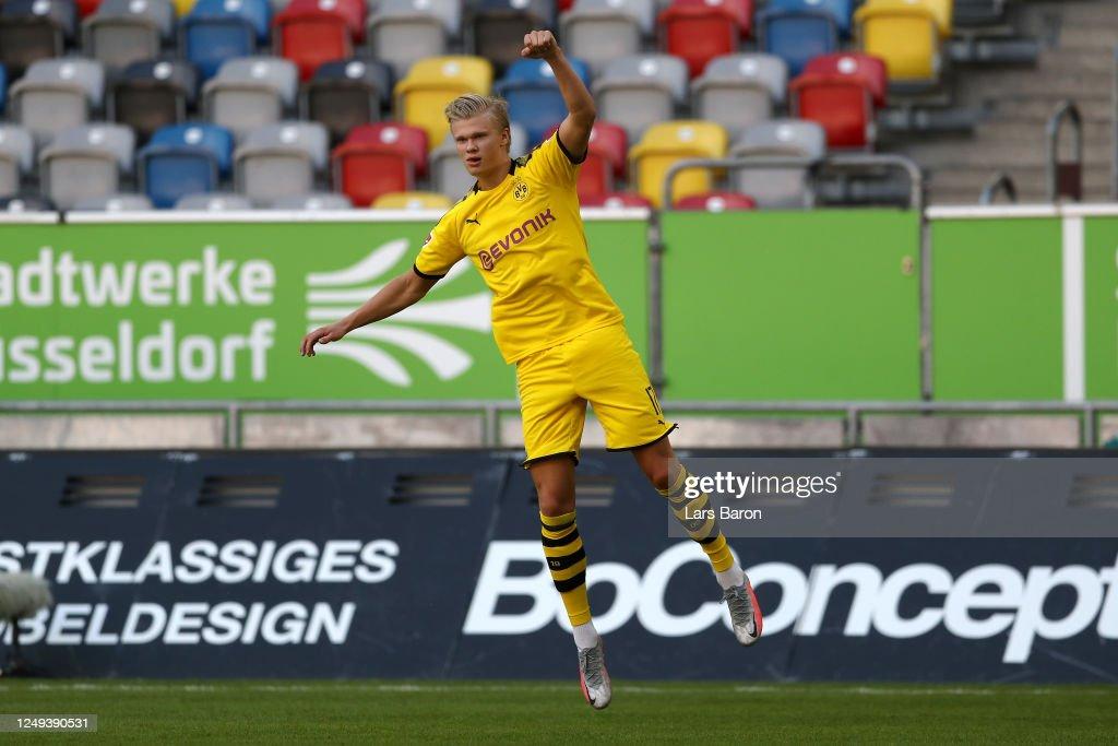 Fortuna Duesseldorf v Borussia Dortmund - Bundesliga : News Photo