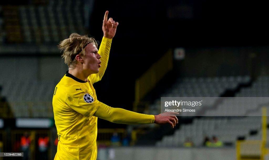 Club Brugge KV v Borussia Dortmund: Group F - UEFA Champions League : News Photo