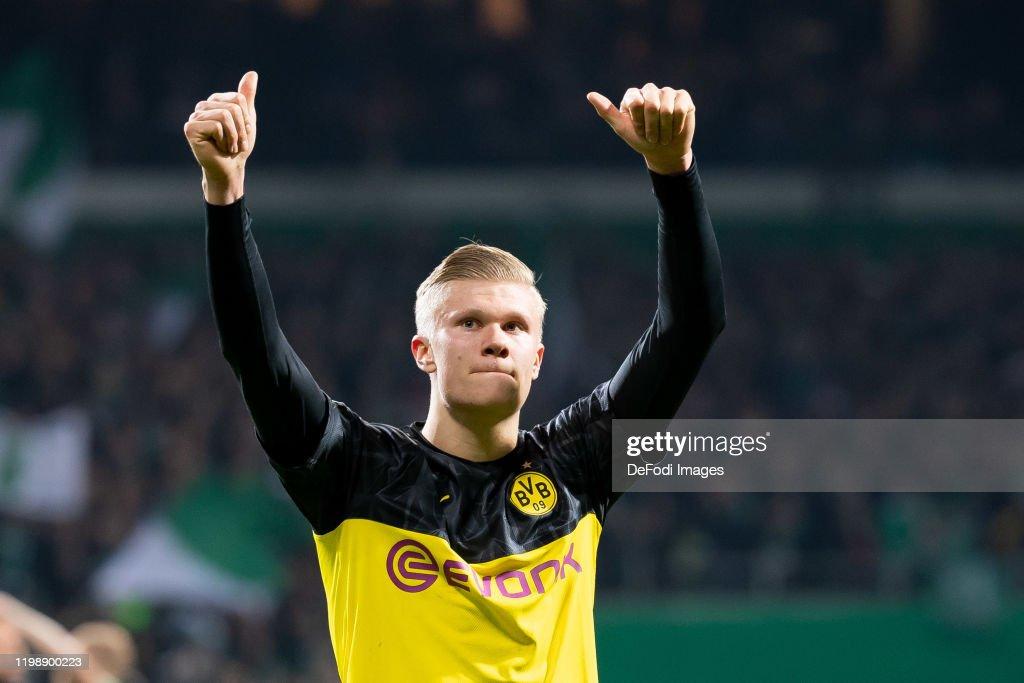 SV Werder Bremen v Borussia Dortmund - DFB Cup : News Photo
